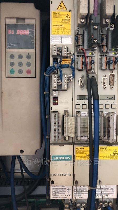 西门子802D/S伺服双轴模块报警