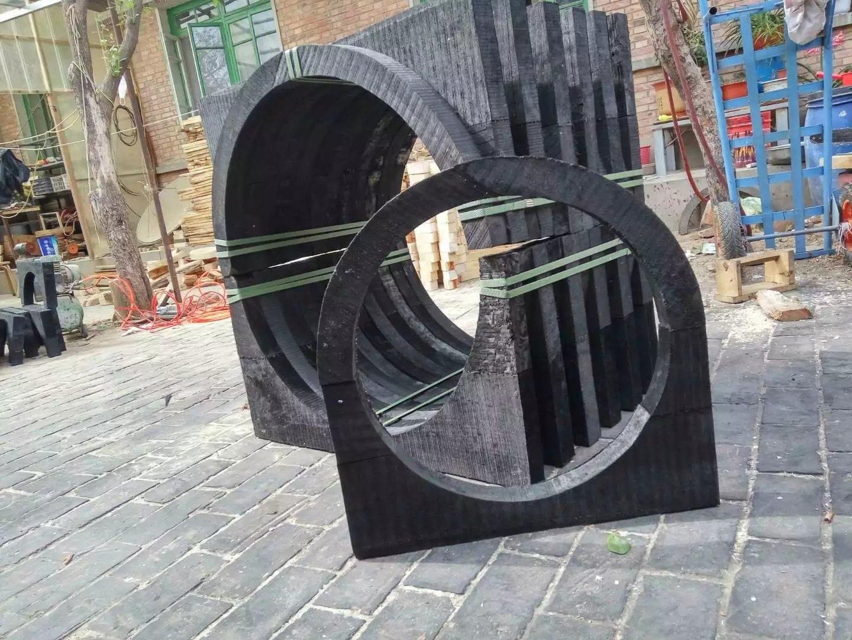 防腐木托厂家  防腐管道管托型号价格