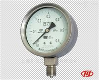 重慶川儀YTF不銹鋼壓力表