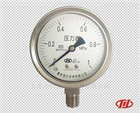 重慶川儀YTH內卡式不銹鋼(耐震)壓力表