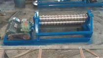电动滚圆机铁皮安装制作