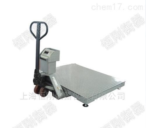 不锈钢定制移动地磅,移动电子智能地磅