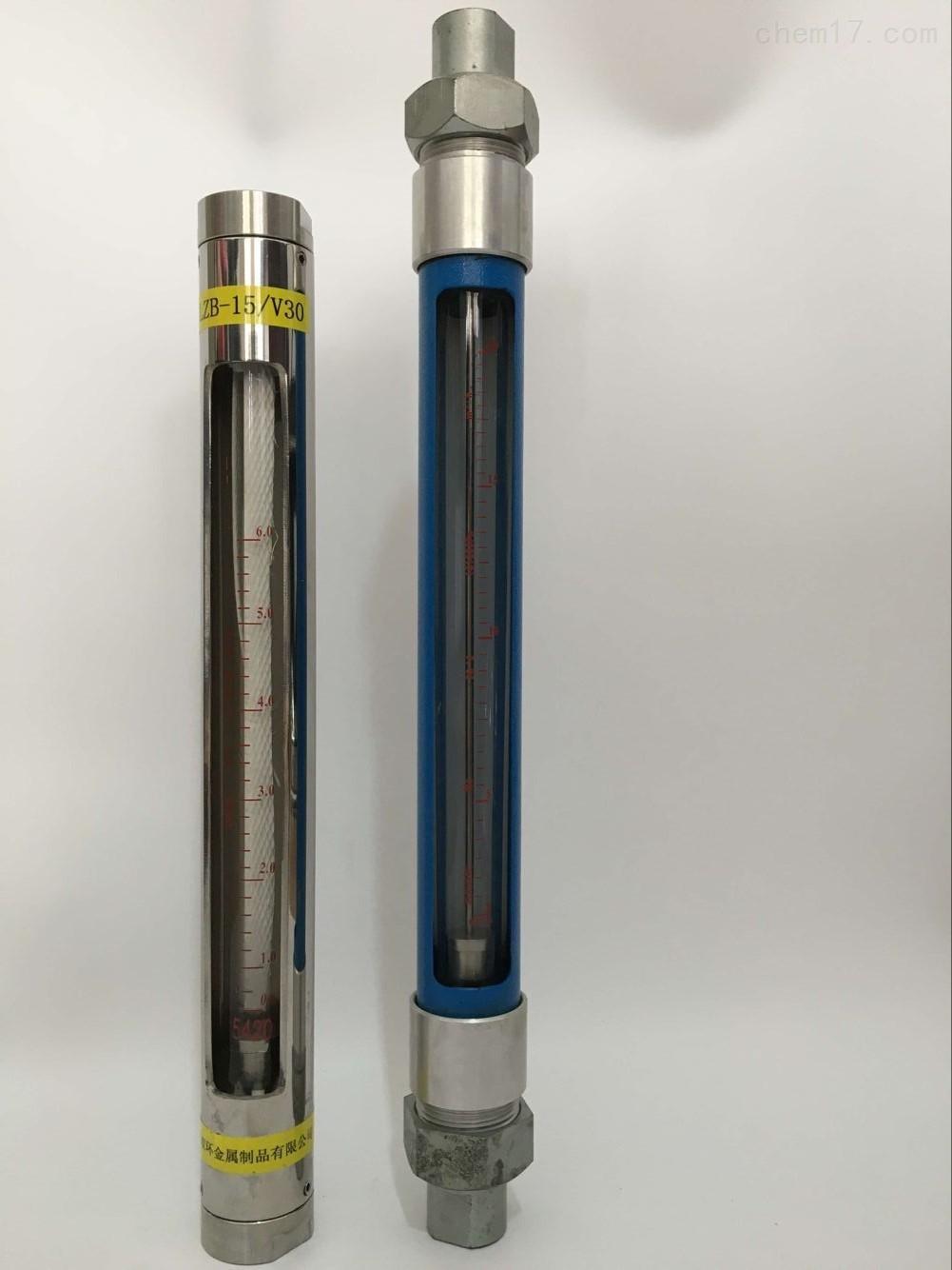 管螺纹玻璃转子流量计VA10-15