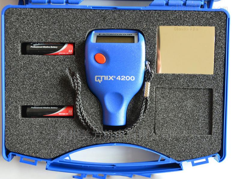 QNix 4200德国尼克斯镀锌层测厚仪特点QNix 4200
