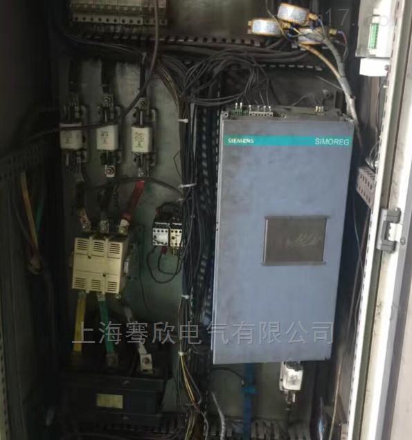 西门子控制器6RA28/23启动报F04修理