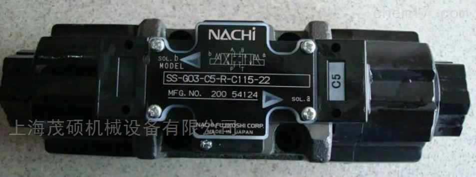 日本不二越NACHI压力电磁阀现货NACHI特价