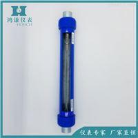 G10-15玻璃转子流量计生产厂家螺纹连接安装简易