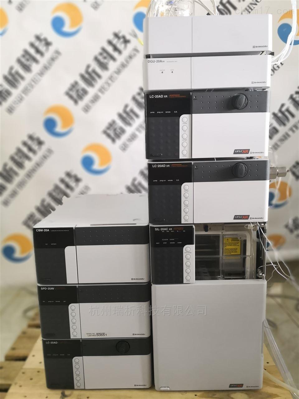 岛津液相色谱仪LC-20A高效液相色谱仪