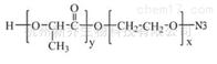 囊泡新型材料PLA-PEG-N3 MW:5000 PLA嵌段共聚物