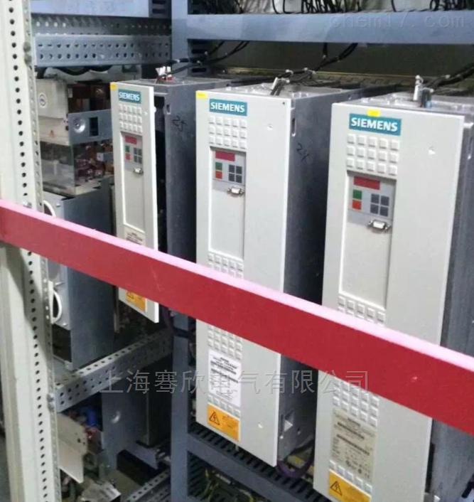 西门子6SE70变频器F010无法复位修理