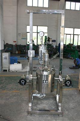 手动升降实验室反应釜