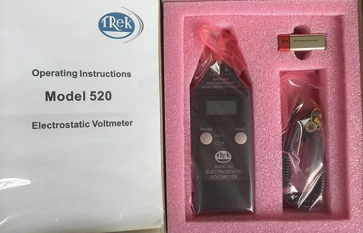 TREK520 手持式静电电压测试仪表面电阻检测仪