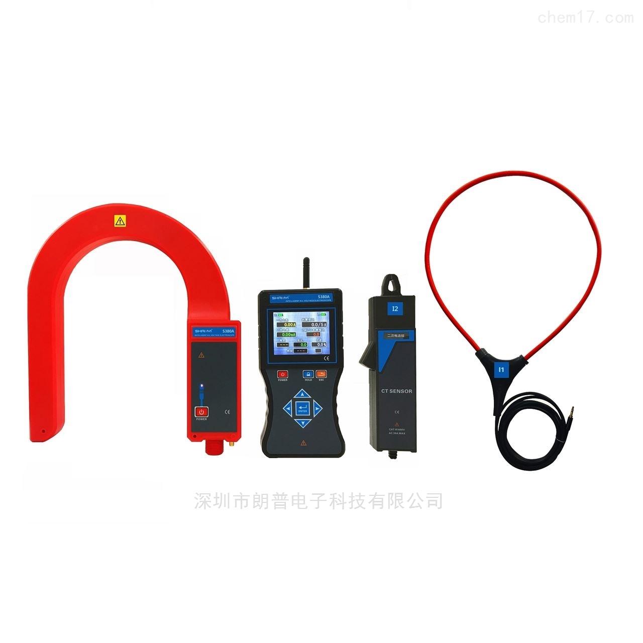 广州钐钇S380A 高低压电流互感器变比测试仪