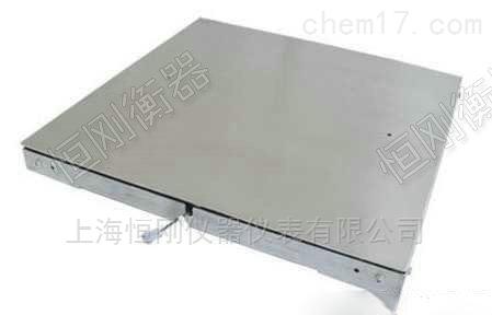 坚固型碳钢双框电子地磅公司 双层结构地磅