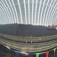 煤棚顶部定点安装