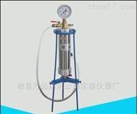 压浆剂压力泌水测定仪,流动锥