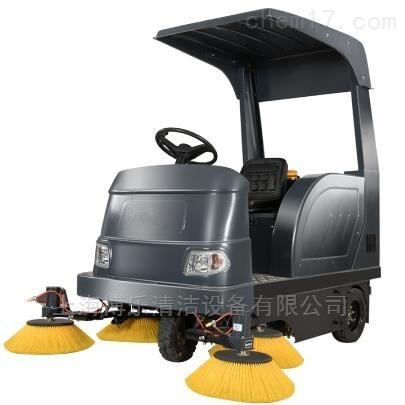 新疆物业工厂清扫树叶沙石用驾驶式扫地机