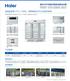 HYC-1050L海尔医用冷藏箱
