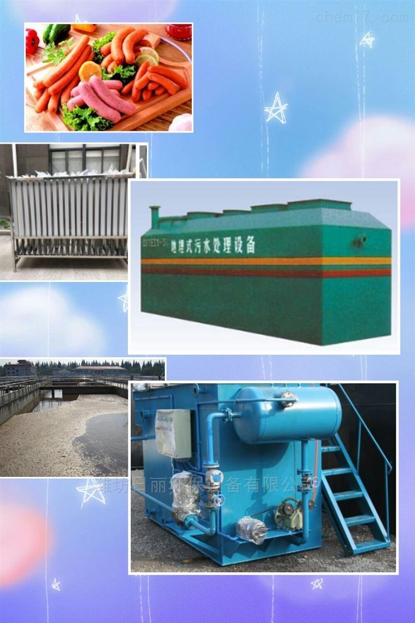 陕西省牛肉制品污水处理设备RL-WSZ-AAO