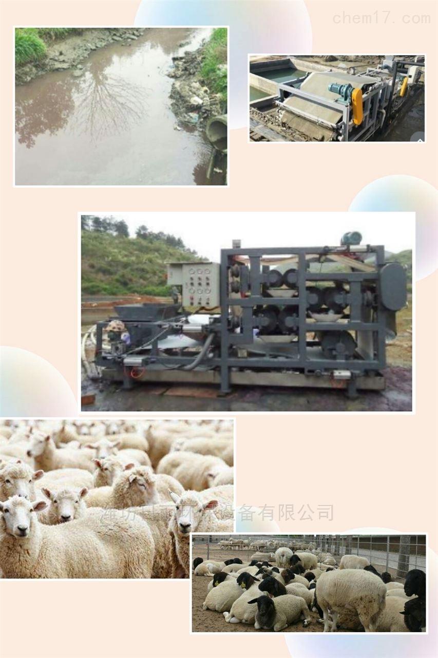 甘肃省畜牧业污泥脱水装置RL带式压滤机