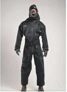 全密闭式核辐射防护服套装