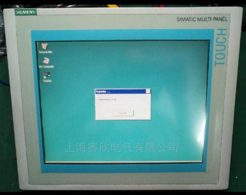 西门子触摸屏自检不了程序-工业屏维修厂家