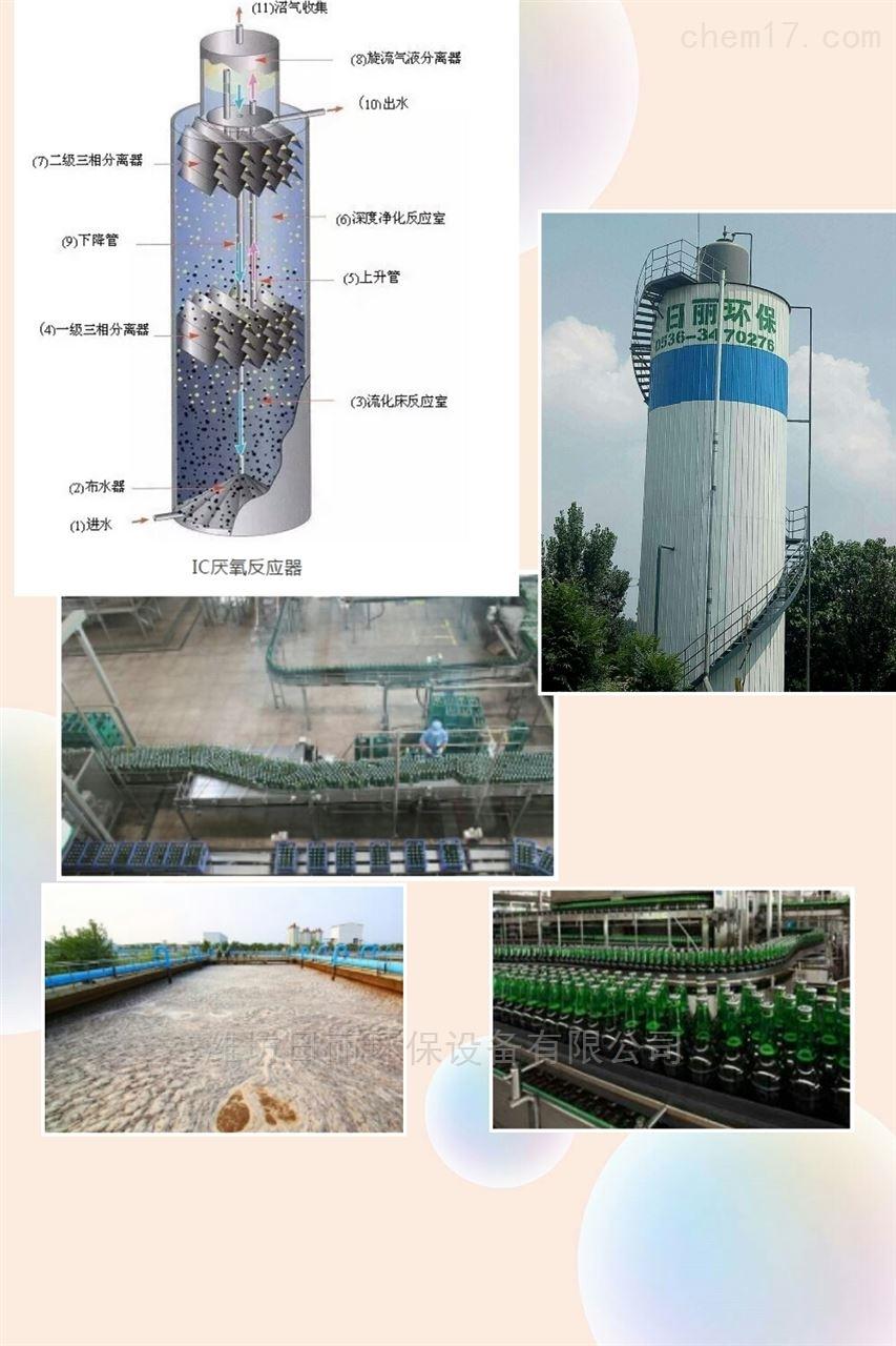 河北省啤酒厂污水处理设备RL-IC反应器