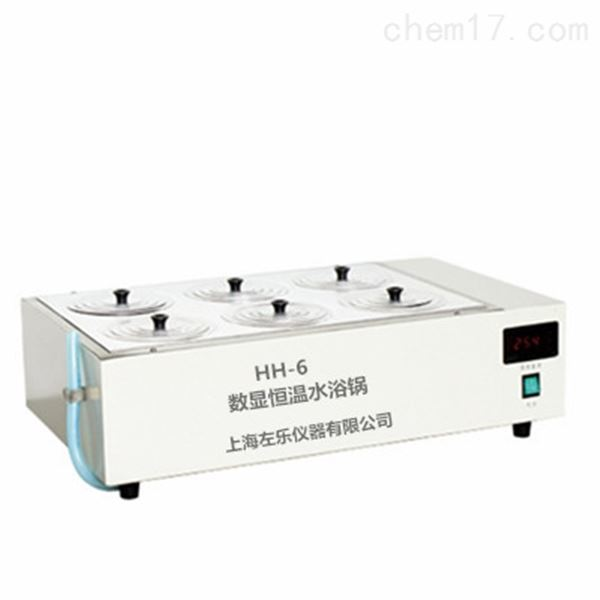 6孔电热恒温水浴锅HH-6