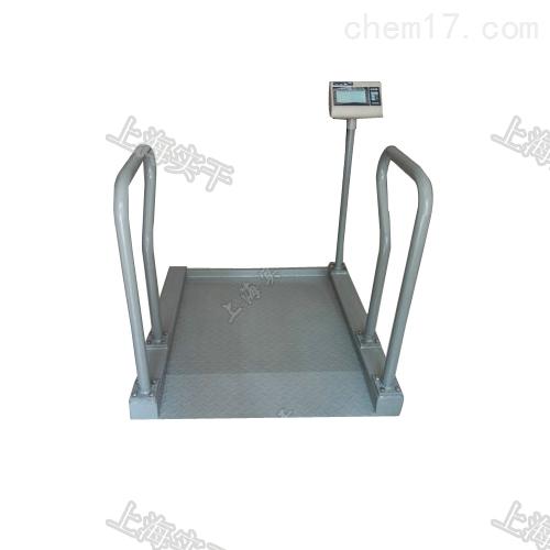 透析用不锈钢轮椅秤 双边扶手电子轮椅称