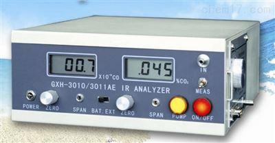 GXH-3010/3011AE便攜式紅外線CO/CO2二合一分析儀複合氣體