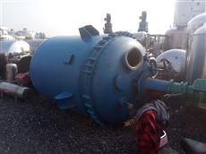 二手1.5吨搪瓷反应釜
