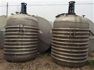 二手2吨搪瓷电加热反应釜供应
