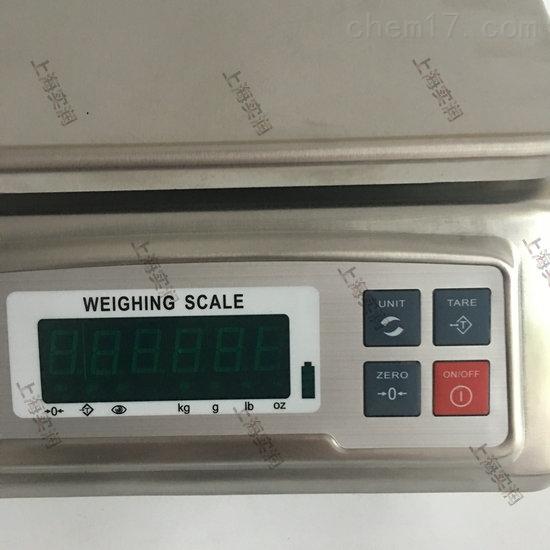 用于食品厂车间30公斤不锈钢防水电子称