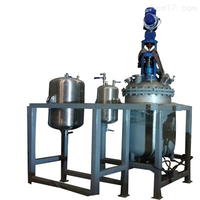 300L减压蒸馏反应釜 减压蒸馏系统 实验室反应釜