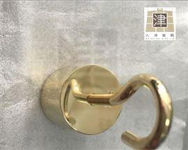 M1黄铜标准砝码厂家定制圆形/带钩黄铜砝码