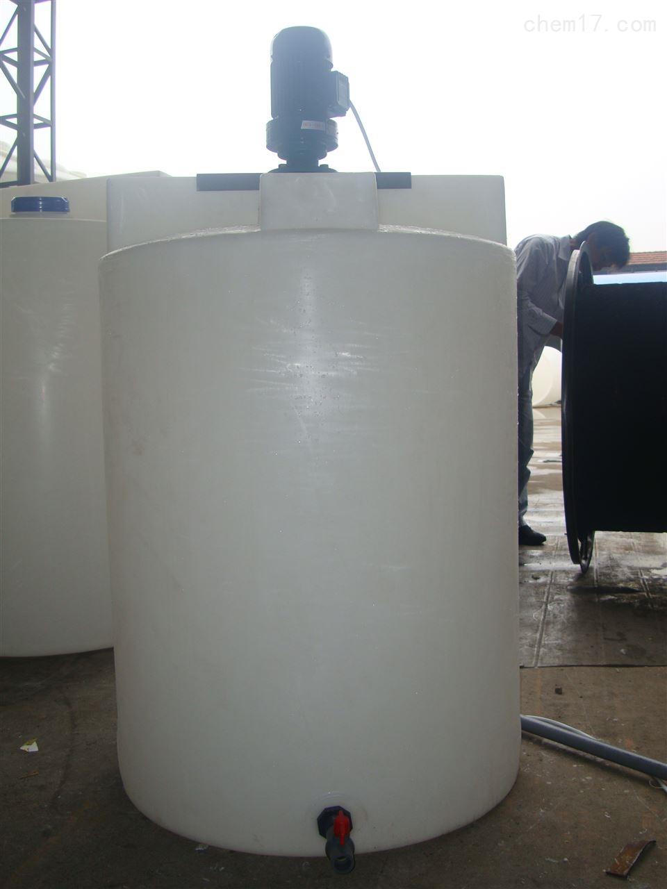 耐酸碱PE反应罐 化工调配PE桶