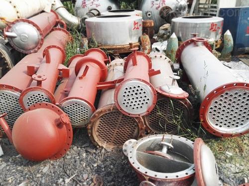 供应12-150平方二手不锈钢列管冷凝器