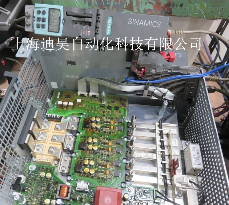 S120数控系统电源无使能维修当天修好