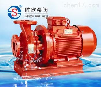 XBD-W型臥式單級單吸消防泵