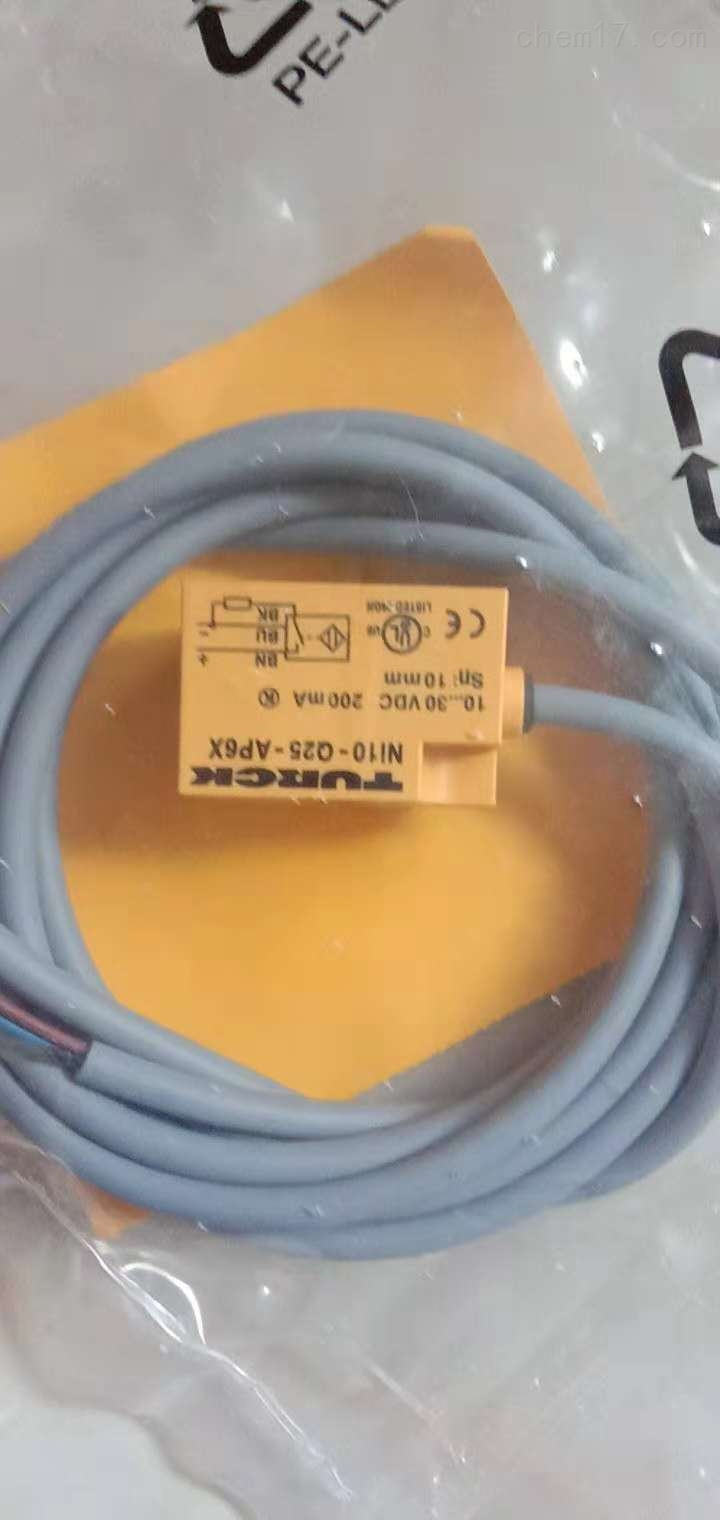 图尔克传感器中国销售