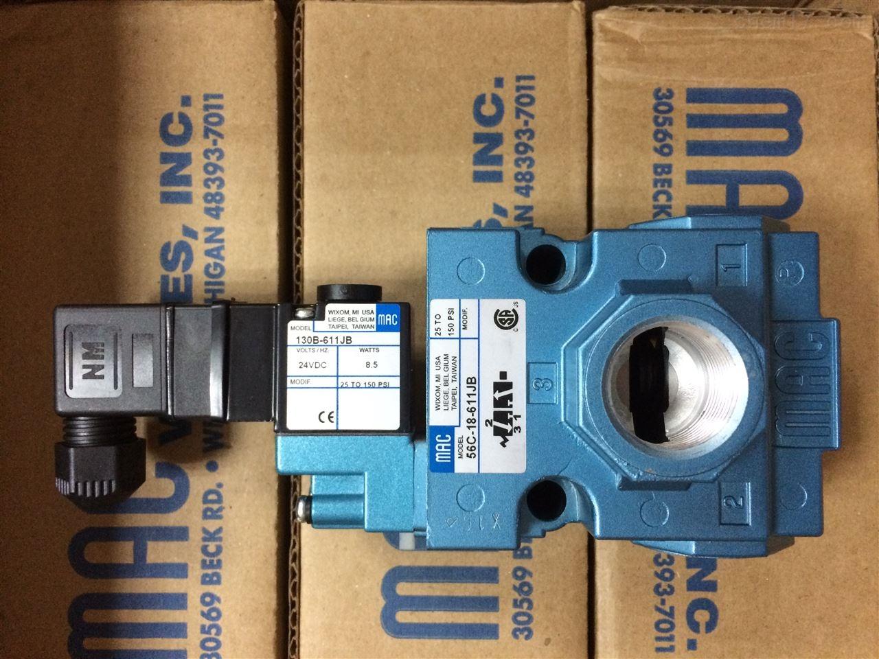 原裝正品美國MAC電磁閥35A-SCC-DDAA-1BA