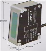 美国邦纳BANNER高精度激光位移传感器