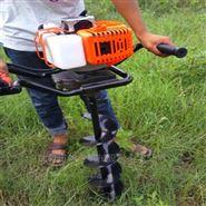 手提式二冲程挖坑机 汽油大功率打孔机