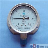 Y-60BFT/100BFT/150BFT不锈钢径向带后边压力表