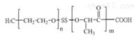 取代率mPEG-SS-PLA-COOH双硫键嵌段共聚物