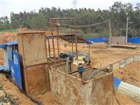 工地打樁泥漿現場干化處理