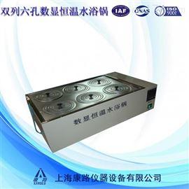 HHS-8数显恒温双列八孔水浴锅