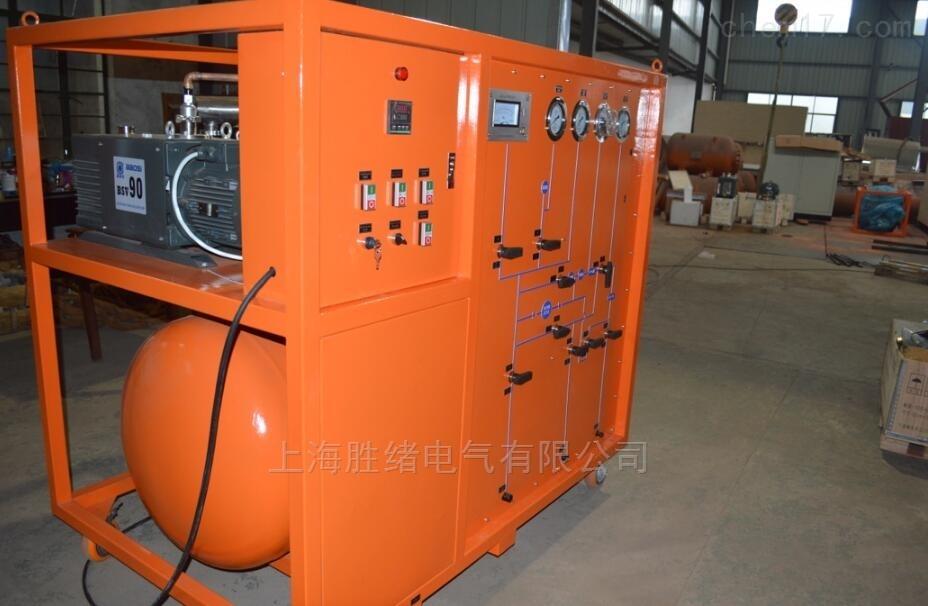 SG2008型SF6气体抽真空充气装置