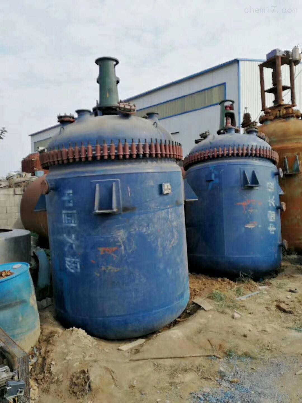 回收二手8000L的搪瓷反应釜及化工设备