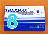 8格E型英国TMC温度试纸8格E型温度变色贴测温纸